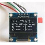 Tinycontrol OLED White Display Module 0.96""