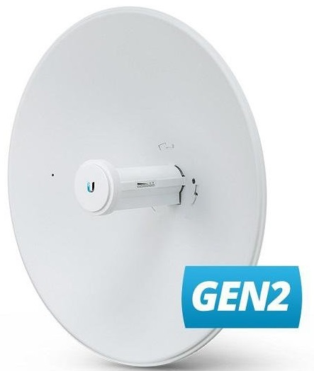 Ubiquiti PBE-5AC-Gen2, PowerBeam 5AC - Generation2, 25dBi 5GHz, 450+ Mbps, G-PoE, 400mm Dish Ref.