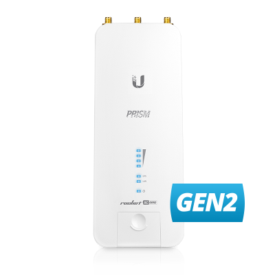 Ubiquiti RP-5AC-Gen2, Rocket, 5GHz 802.11AC AirMax BaseStation up to 500+ Mbps
