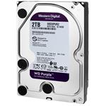 "WD, HDD 2TB Purple 3,5"", SATAIII, 5400 RPM, 64MB"