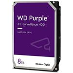"WD, HDD 8TB Purple 3,5"", SATAIII, 7200 RPM, 256MB"